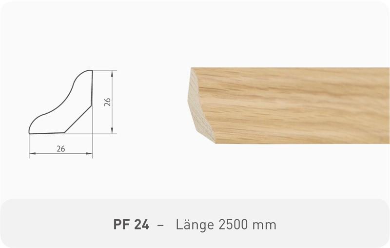 Parkettleiste PF 24 Eiche ProStrong 2,50 m