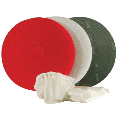 Superpad rot Durchmesser 406 mm 5 Stück pro Karton