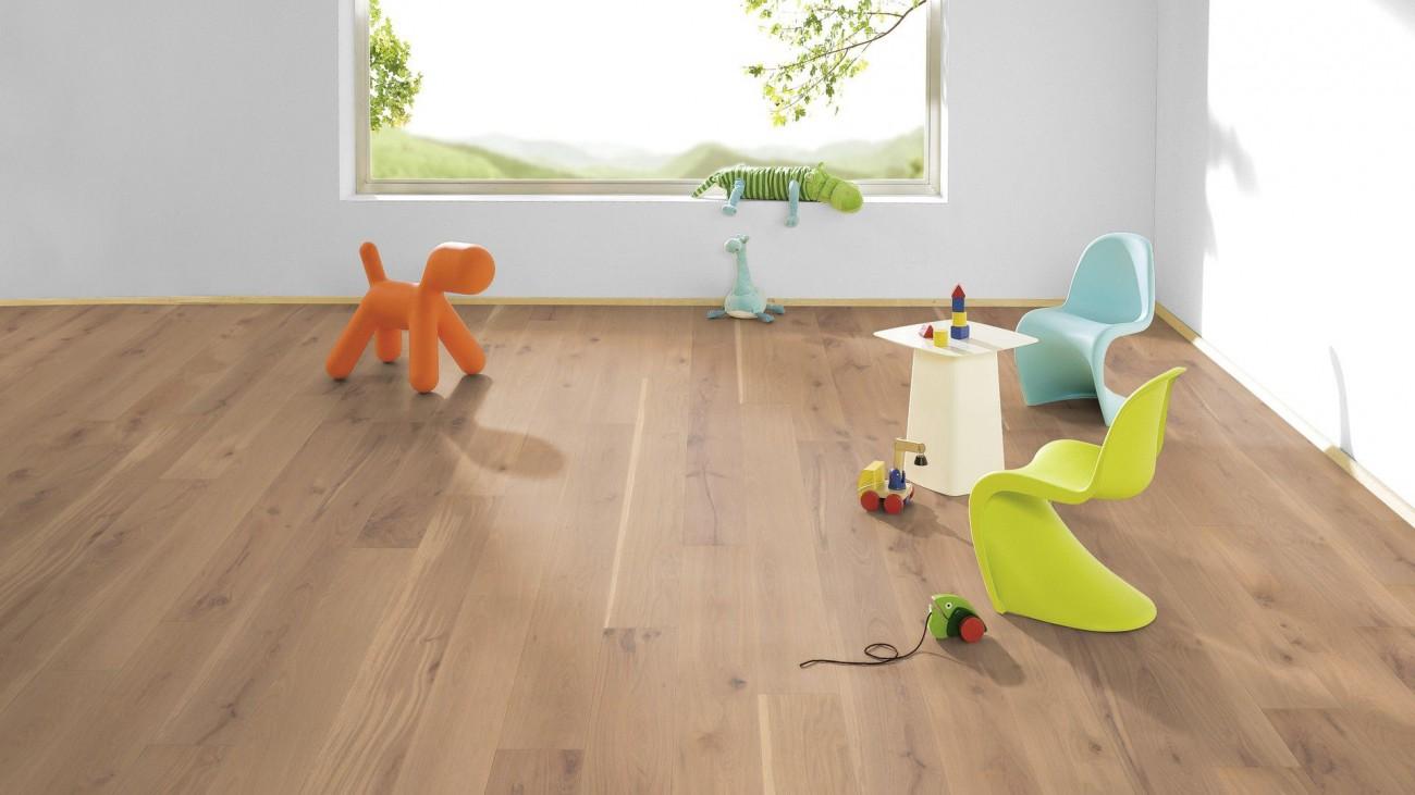 weitzer parkett comfort diele eiche kaschmir original. Black Bedroom Furniture Sets. Home Design Ideas