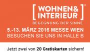 Das war die Wohnen & Interieur Messe Wien 2016