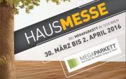 Megaparkett Hausmesse vom 30. März bis 2. April 2016