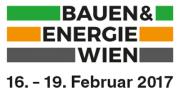 Besuchen Sie uns auf der Bauen & Energie Messe Wien 2017