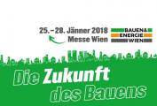 Besuchen Sie uns auf der Bauen & Energie Messe Wien 2018