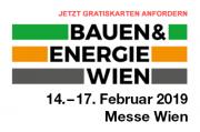 Besuchen Sie uns auf der Bauen & Energie Messe Wien 2019