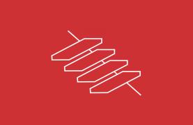 Kragarm-Treppen