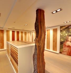Weitzer Parkett Showroom Wien